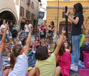Contaminazioni: incontro di musica e teatro per i bambini @ giardino di Euphonìa