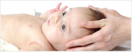 cranio sacrale massaggio neonato