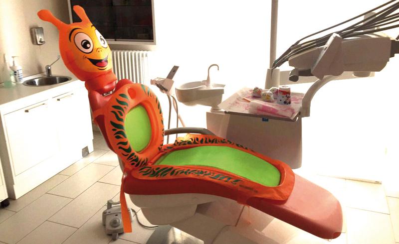 ugo poltrona dentista bambini