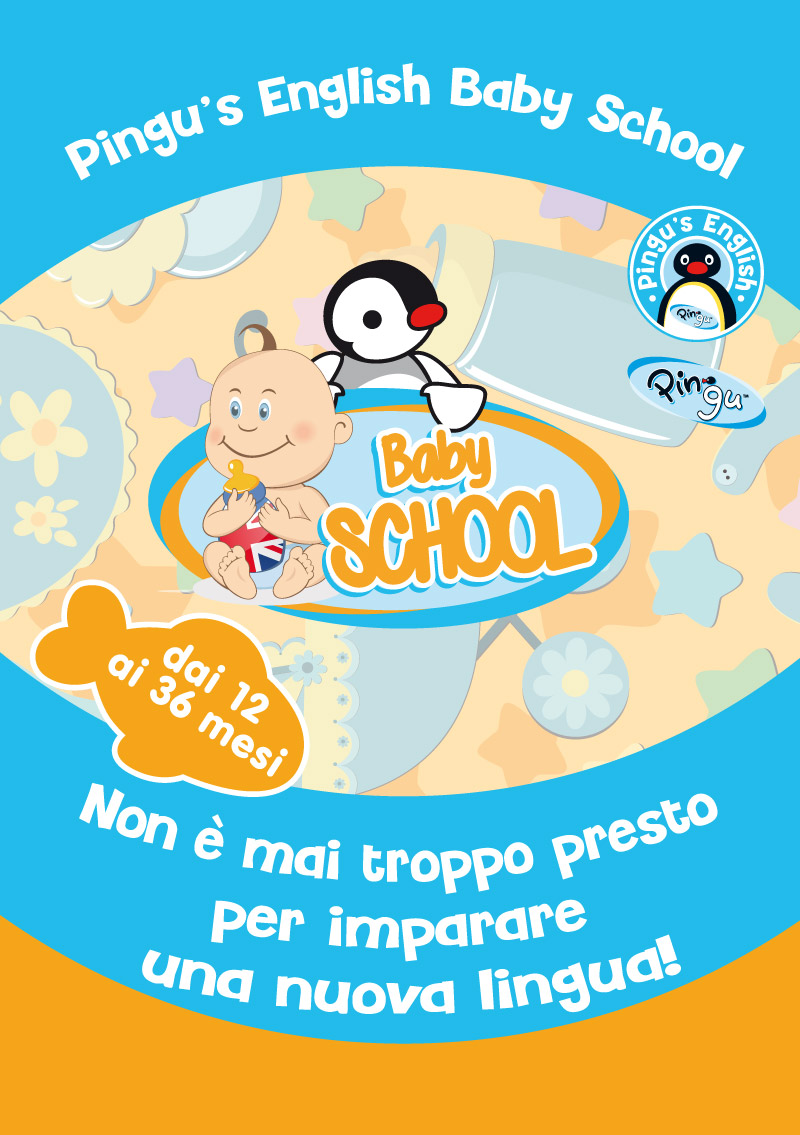 Pingu's english baby school - Modena
