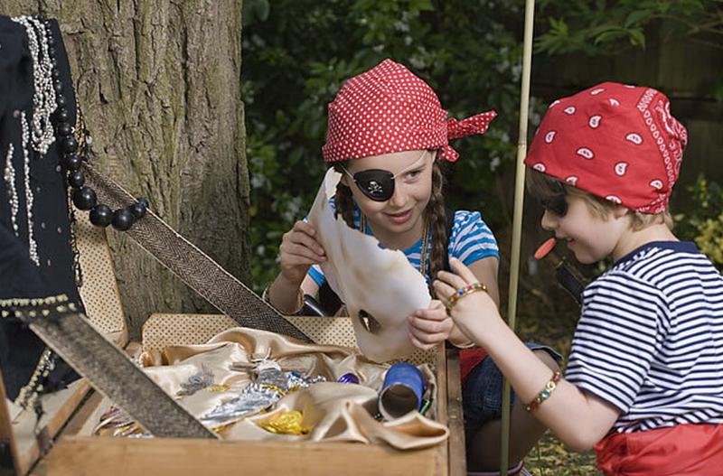 caccia al tesoro bimbi pirati