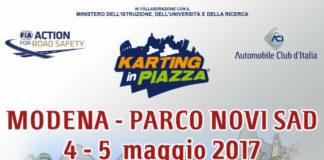 karting in piazza a modena per i bambini