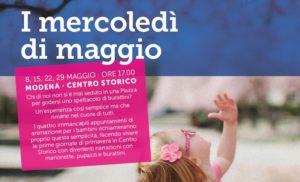 I mercoledì di maggio, animazione per i bambini in centro a Modena @ sedi varie | Modena | Emilia-Romagna | Italia