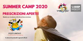 SUMMER CAMP 2020 PREISCRIZIONI APERTE!