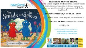 'THE SMEDS AND THE SMOOS' - LABORATORIO IN INGLESE PER BAMBINI DELLA SCUOLA MATERNA (3 - 6 ANNI) @ Helen Doron English Modena