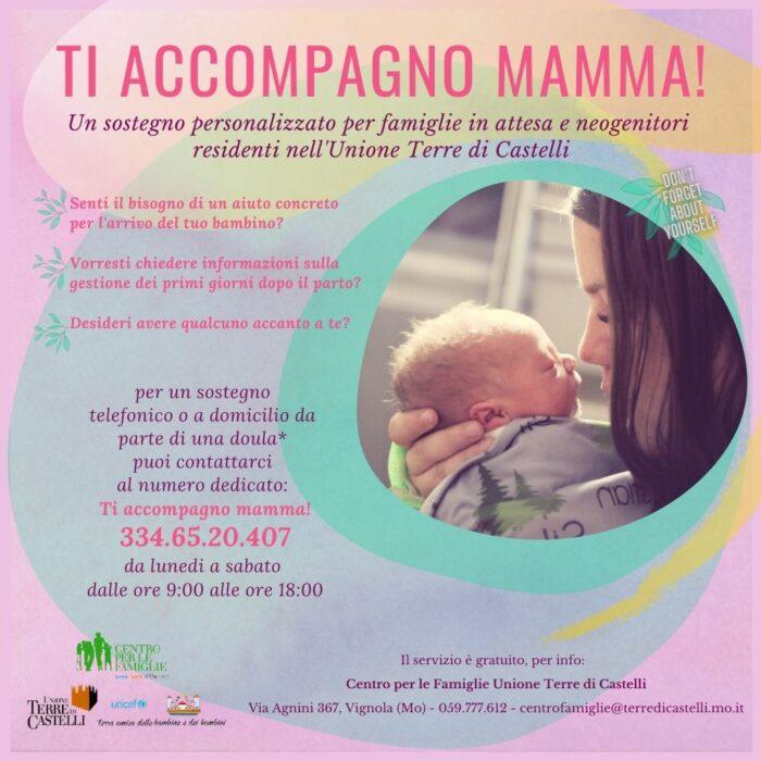 Centro per le famiglie Terre di Castelli - Ti accompagno mamma