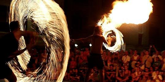buskers festival a modena parco amendola